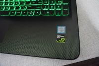HP Pavilion ak007TX Gaming 15 i7-6700HQ (2.60 - 3.50 GHz) NVIDIA GeForce GTX 950M (4GB GDDR3) คีย์บอร์ดไฟสีเขียว