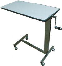 PS39 โต๊ะคร่อมเตียงโครงสร้างสแตนเลส (ขอบยาง)