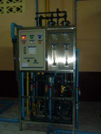 """ติดตั้งทั้งระบบโรงงานน้ำดื่ม """"นายาง"""" อ.พิชัย จ.อุตรดิตถ์ ระบบ Reverse Osmosis 16'000ลิตร /วัน"""