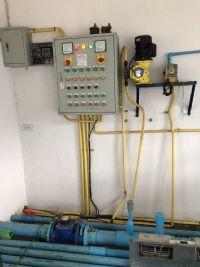 ปรับปรุงระบบกรองน้ำบาดาล+ปั้มจ่ายน้ำใสขึ้นหอสูง+วางระบบ Air Back wash