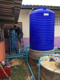 ติดตั้งจุดบริการน้ำดื่มชุมชนระบบ Reverse Osmosis  บ้านแม่ลายเหนือ  อ.ฮอด จ.เชียงใหม่