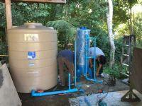 """ติดตั้งเครื่องกรองน้ำดื่มระบบRO.+ตู้น้ำเย็นขนาด2หัวก้อก """"MAXCOOL"""""""