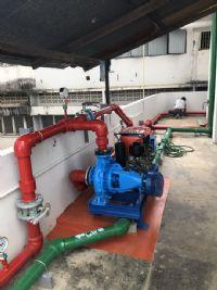 ติดตั้งระบบ Fire pump + Aeration ขนาดใหญ่ ตลาดวโรรส จ.เชียงใหม่