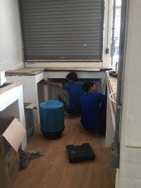 ติดตั้งเครื่องกรองน้ำดื่ม ระบบReverse Osmosis 80 gpd. บริการลูกค้าในร้านกาแฟ
