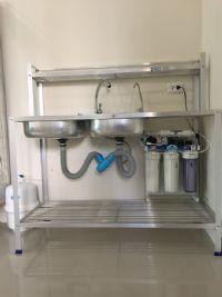 ติดตั้งเครื่องกรองน้ำดื่มในบ้าน เครื่องกรองน้ำดื่มระบบ RO. 50 gpd.