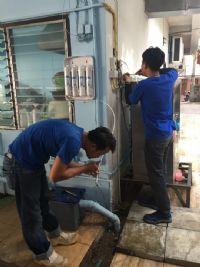 ติดตั้งระบบกรองน้ำดื่มพร้อมตู้น้ำเย็นขนาด 2 หัวก้อกสำหรับนักเรียน ในจ.เชียงใหม่