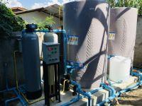 ติดตั้งระบบกรองน้ำบาดาล+ถังกรองน้ำระบบล้างอัตโนมัติ และปั้มจ่ายน้ำ Inverter ใช้ภายในบ้าน