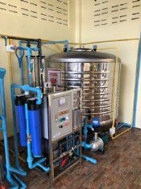 ติดตั้งระบบน้ำดื่มชุมชน ระบบReverse Osmosis บ้านบ่อโจง ต.หนองหนาม อ.เมือง จ.ลำพูน