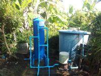 ติดตั้งถังกรองน้ำ ขนาด 40x120