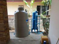 ติดตั้งถังกรองน้ำใช้ ขนาด 40x120