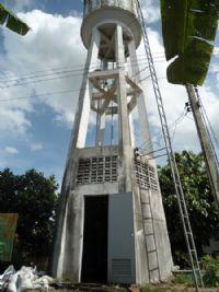 ติดตั้งถังกรองน้ำบาดาลหมู่บ้าน