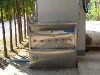 เครื่องกรองน้ำ 2 ท่อพร้อมตู้น้ำเย็น