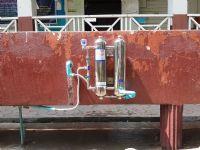 เครื่องกรองน้ำ 2 ท่อสแตนเลส