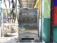 ติดตั้งตู้ทำน้ำเย็นแบบ 4 หัวก๊อก โรงเรียนวัดสวนดอกเชียงใหม่