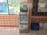 ตู้น้ำเย็นแบบ 2 หัวก๊อก+เครื่องกรองน้ำ