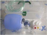 BP 112 ชุดช่วยหายใจชนิดมือบีบ Ambu bag ผู้ใหญ่ พร้อมกล่องใส่