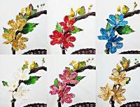 ดอกไม้ตกแต่งกระเช้า คละสี (มี 120 ช่อ)
