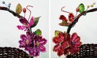 ดอกไม้ประดิษฐ์ เหมาะสำหรับกระเช้า 10-12 นิ้ว (มี 188 ช่อ)