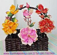 ดอกไม้ประดิษฐ์ เหมาะสำหรับกระเช้า 14-16 นิ้ว (มี 102 ช่อ)