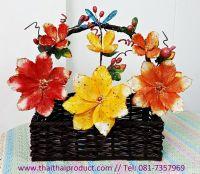 ดอกไม้ประดิษฐ์ เหมาะสำหรับกระเช้า 14 นิ้วขึ้นไป (มี 394 ช่อ)