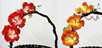 ดอกไม้ประดิษฐ์ เหมาะสำหรับกระเช้า 10-14 นิ้ว (238 ช่อ)