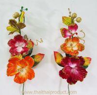 ดอกไม้ประดิษฐ์ คละสี เหมาะสำหรับกระเช้า 14-16 นิ้ว (530 ช่อ)