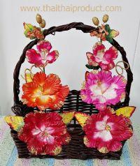 ดอกไม้ประดิษฐ์ คละสี เหมาะสำหรับกระเช้า 16 นิ้วขึ้นไป (791 ช่อ)