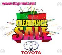 สินค้าลดล้างสต๊อก Toyota