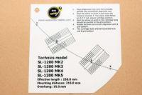 แผ่น PVC Set Up หัวเข็ม Technics SL-1200 MKII (Welove)