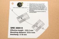 แผ่น PVC Set Up หัวเข็ม SME 3009 R (Welove)