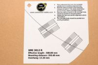 แผ่น PVC Set Up หัวเข็ม SME 3012 R (Welove)