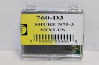ปลายเข็มเทียบ Shure N75-3 (New)