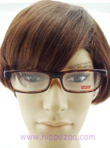 Levis กรอบแว่นตา Acetate Frame สีน้ำตาลกระ  ขาแว่นสีน้ำตาลกระ