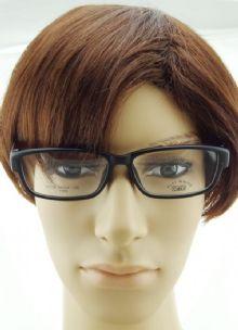 PLAY MOUSE F5115 TR90 กรอบแว่นตาสีดำด้าน ขาแว่นสีดำด้าน