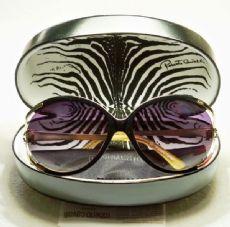 roberto cavalli  กรอบแว่นกันแดด Acetate สีดำ  เลนส์ไล่สีดำ