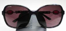 BVLGARI กรอบแว่นกันแดด Acetate Frame สีดำ ขาแว่นสีดำ