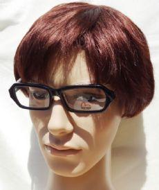 EVISU กรอบแว่นตา Acetate Frame สีดำ  ขาแว่นเล่นลาย