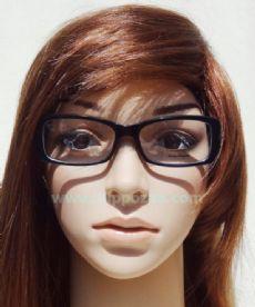 Salvatore Ferragamo กรอบแว่นตา Acetate Frame สีดำ ขาแว่นสีดำ
