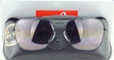 RAY-BAN RB3415-Q AVIATOR กรอบแว่นกันแดดสีดำ เลนส์ไล่สีดำ