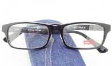 Levis กรอบแว่นตา Acetate Frame สีดำ ขาแว่นสีดำ