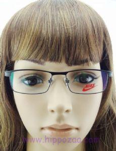 NIKE กรอบแว่นตา Stainless Frame สีดำ ขาแว่นสีดำ