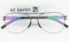 กรอบแว่นตา ic! berlin model bashir frame gun metal