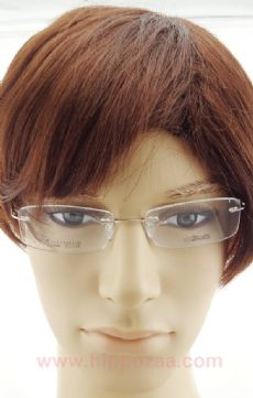 Silhouette Beta Titanium E1066 ไร้กรอบแว่นตาสีทองอ่อน ขาแว่นสีทองอ่อน
