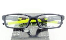 OAKLEY CROSSLINK OX8029 กรอบแว่นตา Plastic TR90 Frame Satin Black (สีเขียว)