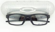 OAKLEY CROSSLINK OX8037 กรอบแว่นตา Plastic TR90 Frame Satin Black (สีดำ)