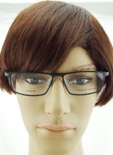 PORSCHE DESIGN กรอบแว่นตา Titanium Frame สีดำ ขาแว่นสีดำ