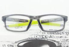 OAKLEY CROSSLINK OX8037 กรอบแว่นตา Plastic TR90 Frame Satin Black (สีเขียว)