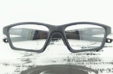 OAKLEY CROSSLINK OX8031 กรอบแว่นตา Plastic TR90 Frame SATIN BLACK (สีดำ)