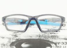 OAKLEY CROSSLINK OX8031 กรอบแว่นตา Plastic TR90 Frame GREY SMOKE (สีฟ้า)