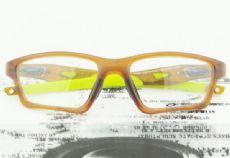 OAKLEY CROSSLINK OX8031 กรอบแว่นตา Plastic TR90 Frame SATIN ROOTBEER (สีเขียว)